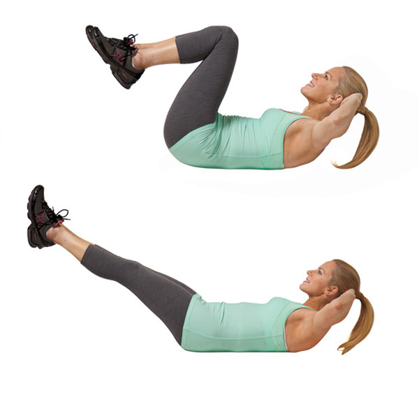 10 Minute Workout, Ten Minute Workout, Abs, Crunches, Crunch Extension,