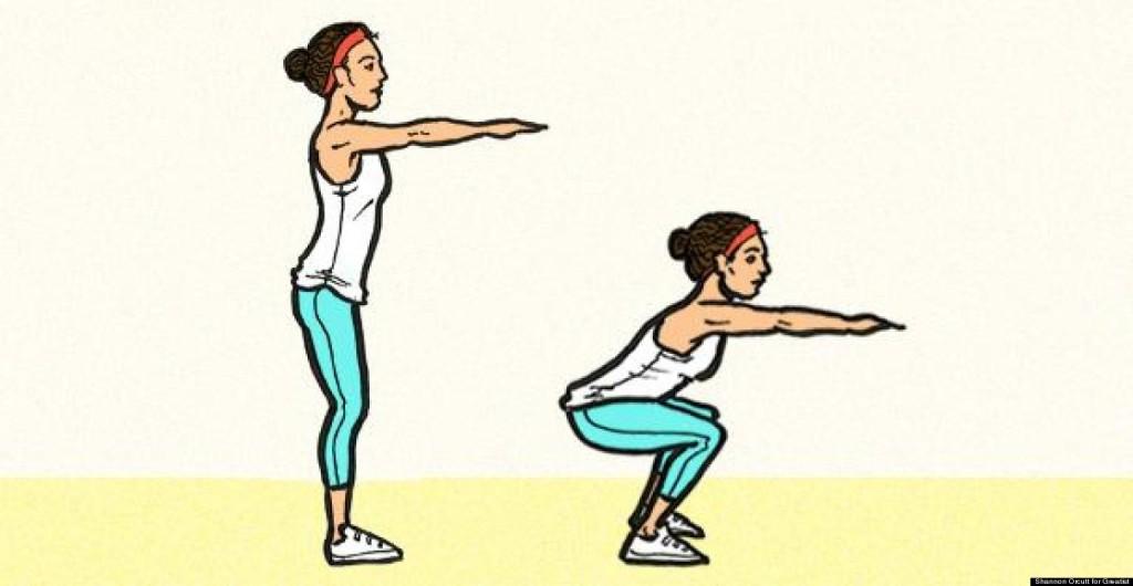 Agility, Plyo Exercises, Exercises to Increase Agility, Women's Health, Devani Alderson, squats, proper form,