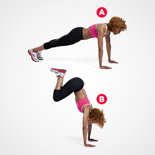 Agility, Plyo Exercises, Exercises to Increase Agility, Women's Health, Devani Alderson, medicine ball tips, plyo planks, squats. burpees,